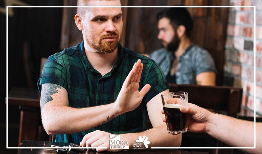 Mora cihazlarıyla yapılan alkolden kurtulma terapisinden sonra neler olur?